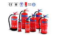 BS EN3 powder type fire extinguishre