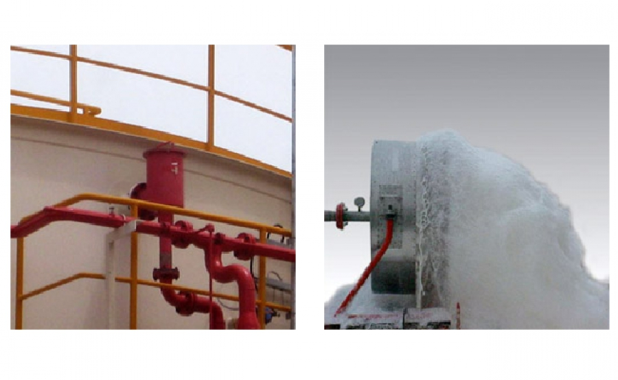Foam Discharge Outlet Devices