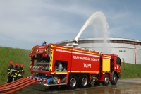 Industrial fire fighting